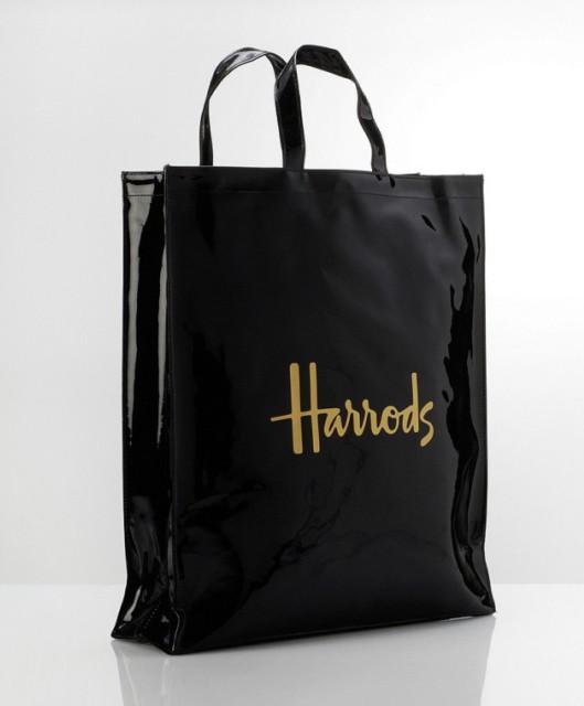 Harrods Pvc Bag Vinyl Pvc Bag Pvc Handled Bag Product